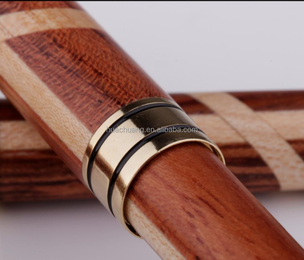 Premium Quality Gored Wooden <strong>Pen</strong> With Your Custom Logo Engraved