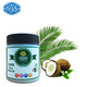 295ml 10oz cold pressed virgin coconut oil, cooking oil food grade pure extract base carrier oil for skin , 32pcs per box