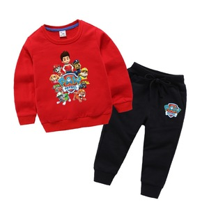 Wholesale Children Clothing Sets with Pattern Children Sweater Sports Suits Kids Sports suit