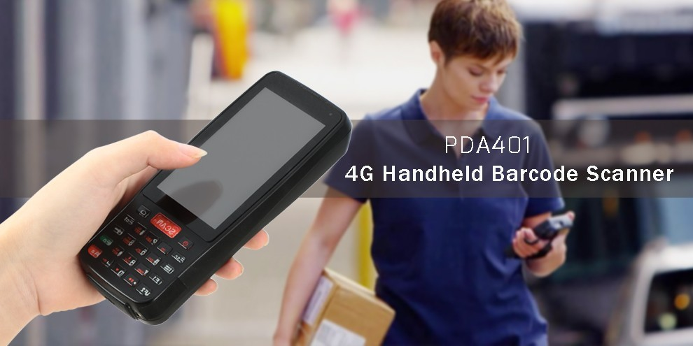 4G Rugged Portable Android Touch Screen Handheld PDA 1d 2d Barcode Laser Scanner