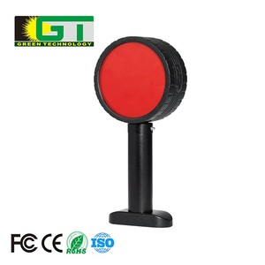 TMN1402 IP65 Double Faced Red Rechargeable Road Safety Flash Led Traffic Signal Warning Light
