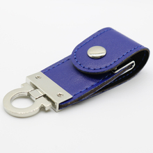 Leather usb stick mini usb flash drive 1GB 2GB 4GB 8GB