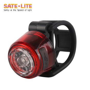 2018 Sate-Lite bike light with ROHS/ CE approved USB rechargeable bicycle tail light LR-02