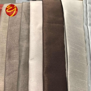 Wholesale OEM cheap polyester fabric dupion for Cushions