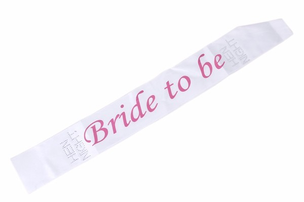 Cheap Price Two Layer Rhinestone Bride To Be Sash For Hen Night LP3034