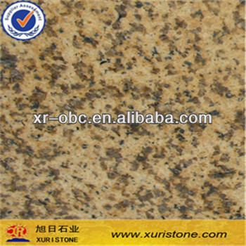 Chinese Nature Amber Yellow Granite Slab