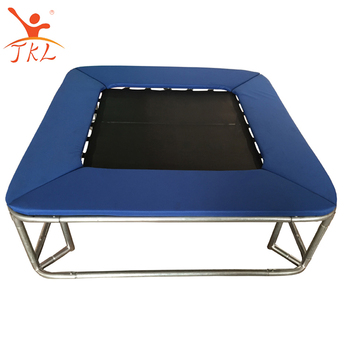 wholesale professional outdoor fitness square mini trampoline view