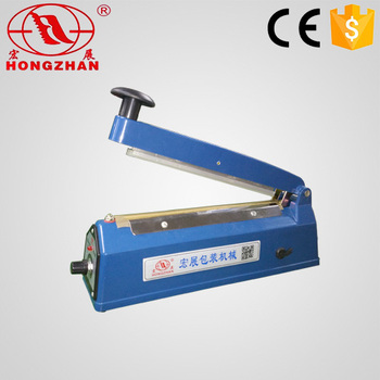 Portable Hand Impulse Sealer For Heat Sealing Ldpe Hdpe Bag And Laminating  Film With Transformer And Cutting Cutter - Buy Hand Sealing Machine,Bag