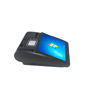 MSR 3G RFID desktop Android pos terminal with printer