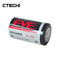EVE ER34615 D size 19000mAh 3.6V R20 Lithium primary Battery