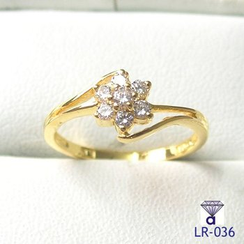 Wholesale Ladies Ring Women Ring Wedding Ring Engagement Ring Gold