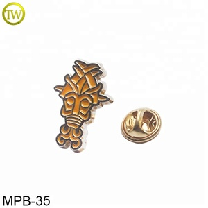 New design soft enamel metal lapel pin wholesale dress metal logo badge