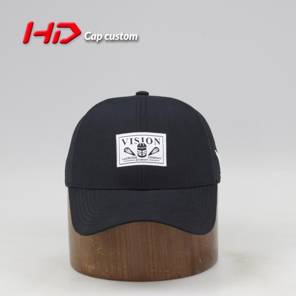 Waterproof Baseball Cap Hats With Custom Woven Label Logo - Buy Hats ... d8298f31a49
