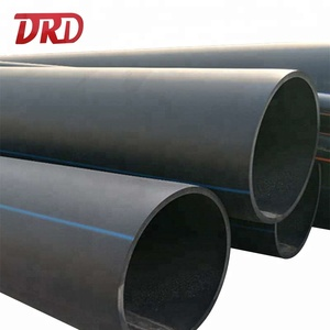Large hdpe blue strip polyethylene hdpe pipes 630mm sdr17