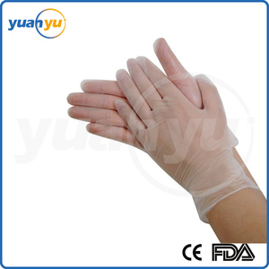 Save 20% Disposable PVC Gloves Powdered or Powder Free Clear Color Examination Vinyl Gloves