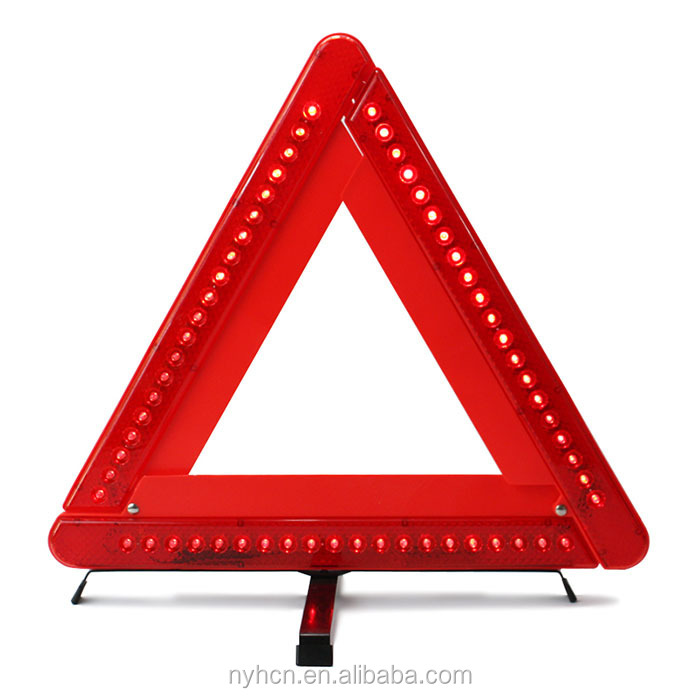 Hot Sale Excellent Quality Collapsible LED Safety Triangle