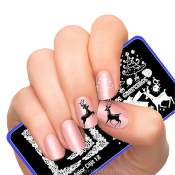 Nail Products Art Polish Stamp Template Manicure Tools Stamping Kit Stamper Scraper