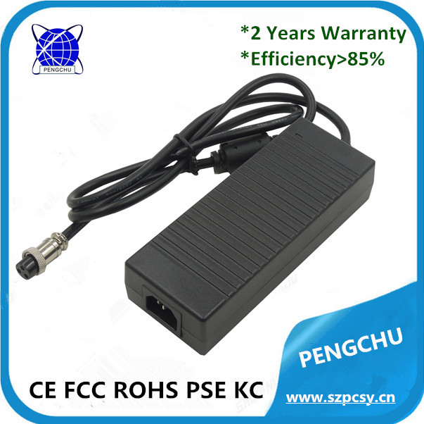 Factory price 112w 28v 4a dc power adaptor with air plug dc connector