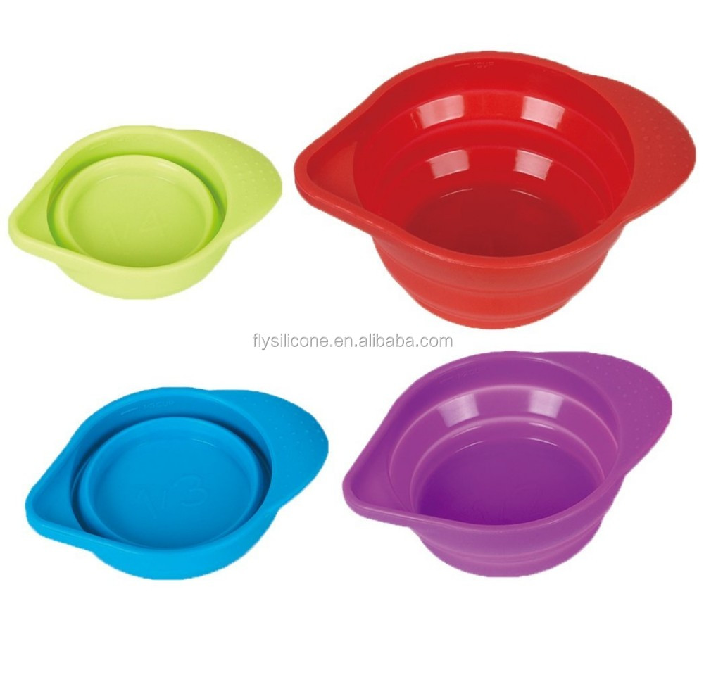 Bpa Free Food Preparation Collapsible Kitchen Silicone
