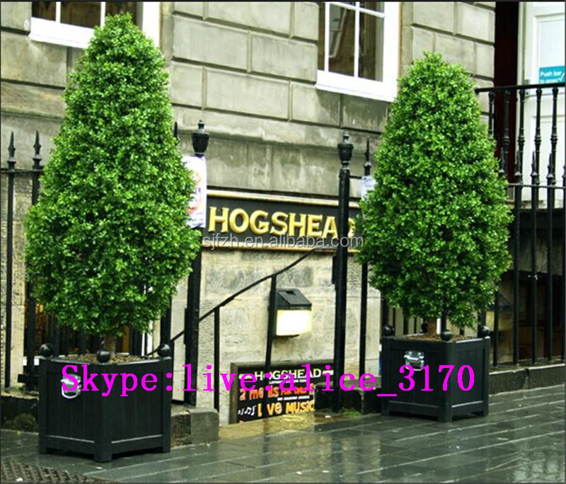 2015 Mejor Venta Varias Formas Topiary Artificial Decorativo Potted ...