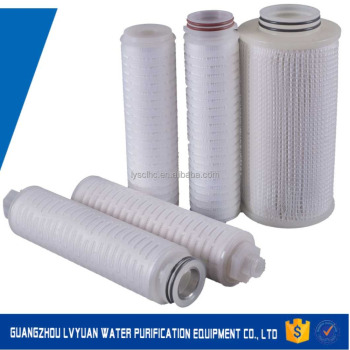 Best cartuccia del filtro vino Pleated filter cartridge for beverage wine beer