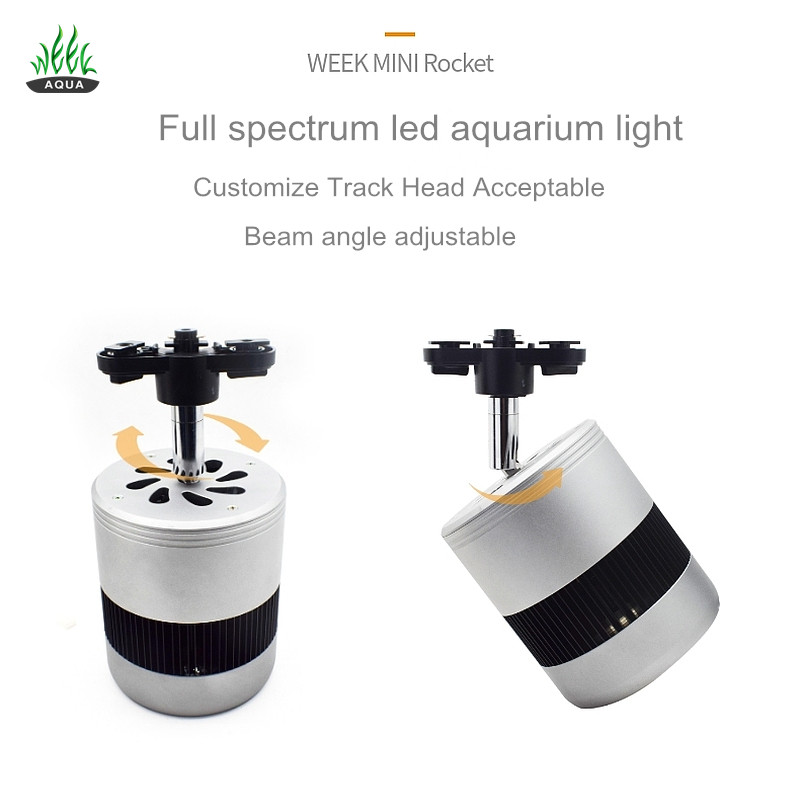 Newest aquarium planted tank aquarium lamp COB 50w Full spectrum freshwater aquatic led aquarium fixture light