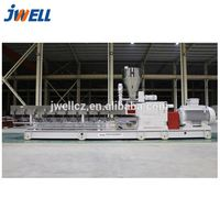WPC pellets extruder Wood Plastic granulating compound extrusion machine