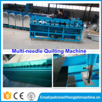 Factory supply automatische multi-naald quilten machine/multineedle quilten machine voor verkoop