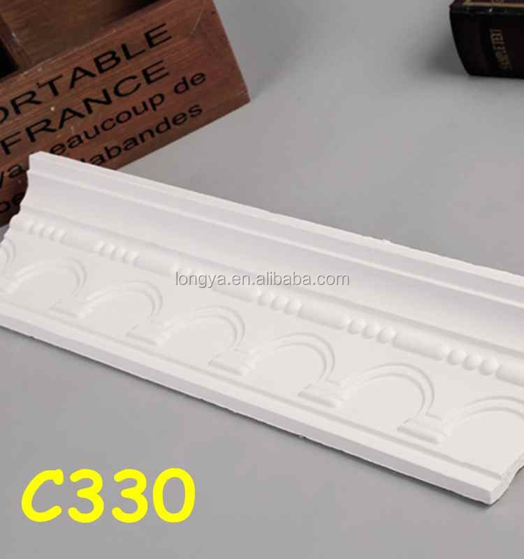 Vente chaude plâtre corniche moule pour plafond décoration ...