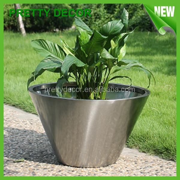 Square Flower Pots Metal Flower Pots Garden Stainless