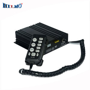 100W remote controller with PA two in one emergency safety warning preemption car siren horn