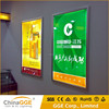 Newest design indoor snap frame aluminum acrylic lightbox led light box advertising a2 led menu display