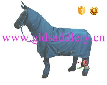 Royaol Blue Waterproof Combo Turnout Horse Rug View