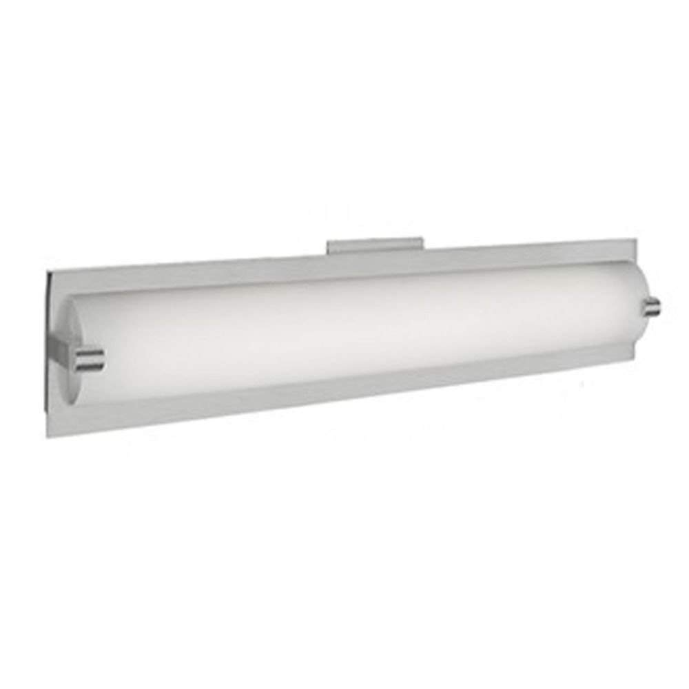 Brushed Nickel LED Bathroom Light by Kuzco Lighting