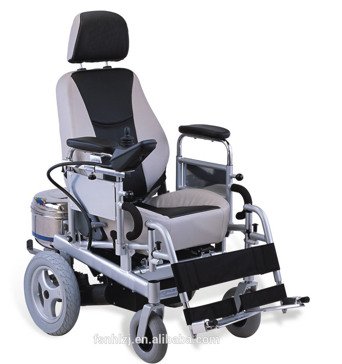 Wheelchair supplier factory Reclining electric wheel chair electric