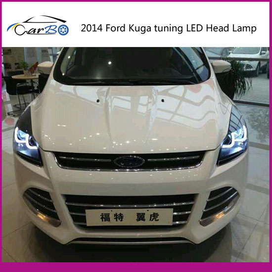 headlight for ford kuga tuning head lamp wholesales price. Black Bedroom Furniture Sets. Home Design Ideas