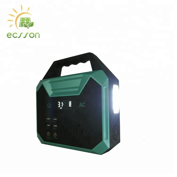 Low frequency multi function Portable Generator Power Source for outdoor traveling and hiking
