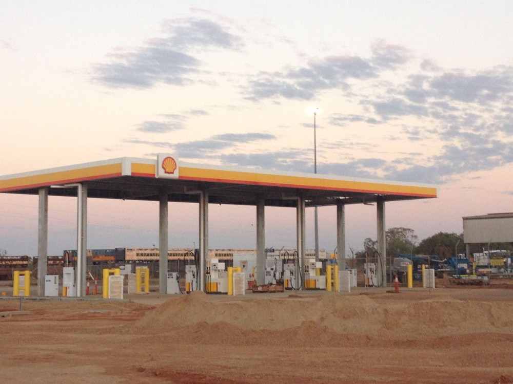 Professional Design Petrol Station
