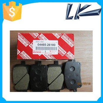 Auto Brake Systems Automobile Genuine Toyota Brake Pad 04465-26180 ...
