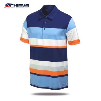 Custom 100 Microfiber Polyester Polo Shirts Polo Collar T Shirt