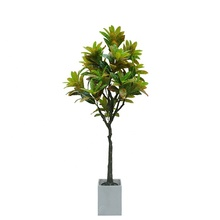 Coperta di Plastica Decorativa Tropicale <span class=keywords><strong>Bonsai</strong></span> di Vendita Casa Albero Decorazione Artificiale <span class=keywords><strong>Banyan</strong></span> Pianta