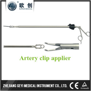 Laparoscopic bulldog Clip Forceps Artery Endo Vessel Clip Applier