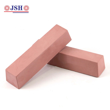 Manual buffing compound polishing soap wax solid bar