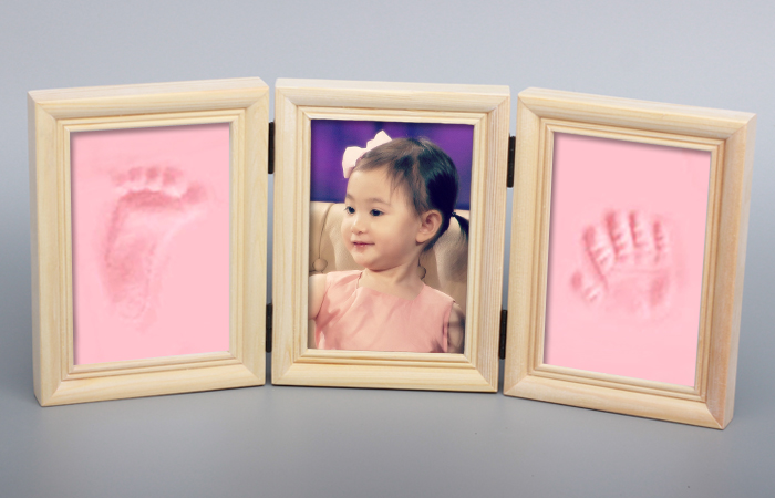 Pasgeboren Baby Footprint Klei Kit