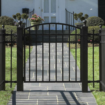 cheap single swing beautiful and modern garden gates