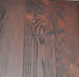 Brushed White Oak Engineered dark color flooring wood