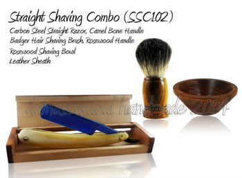 Straight Razor Shaving Set