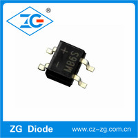 MB6S 600 Volt SMD Rectifier Bridge