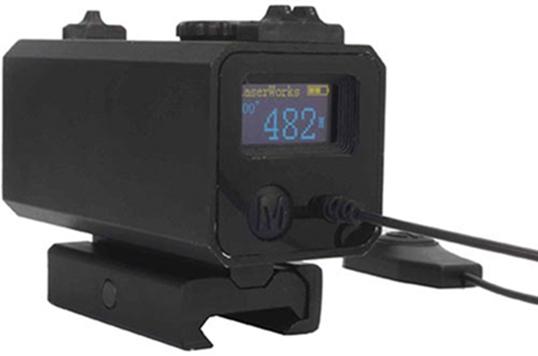 Zielfernrohr Mit Entfernungsmesser : Laser entfernungsmesser zielfernrohr: digitales
