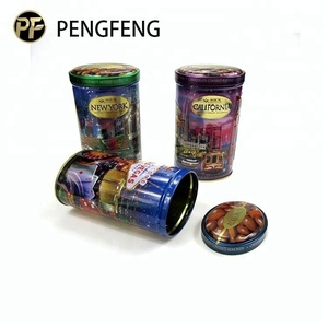 Food tin can with lids tin tube packaging